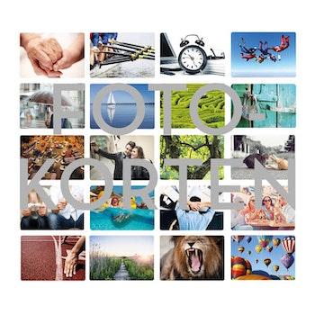 Digitala Fotokort - färg
