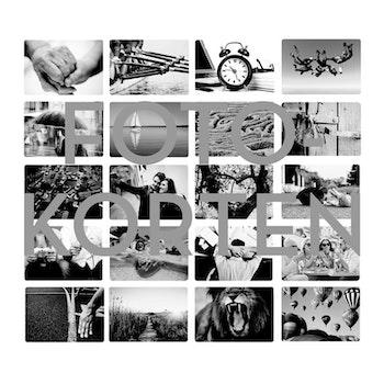 Digitala Fotokort - svartvita