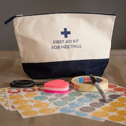 First aid kit for meetings