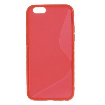 Flexibelt Skal S-Design till Apple iPhone 6 Röd