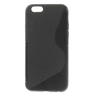 Flexibelt Skal S-Design till Apple iPhone 6 Svart