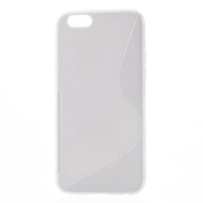 Flexibelt Skal S-Design till Apple iPhone 6 Vit