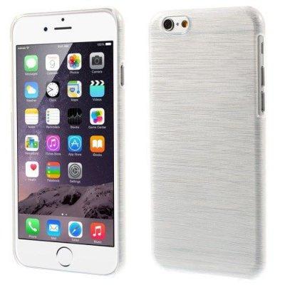 Hårt Skal iPhone 6 Vit blankt plast skal