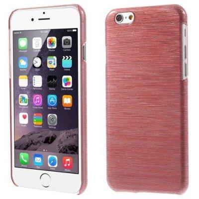 Hårt Skal iPhone 6 Röd blankt plast skal