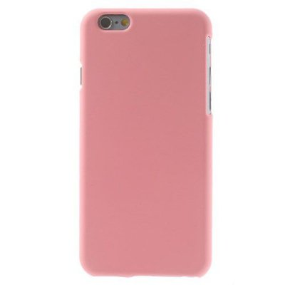 Hårt Skal iPhone 6 Rosa med gummiliknande yta för bättre grepp