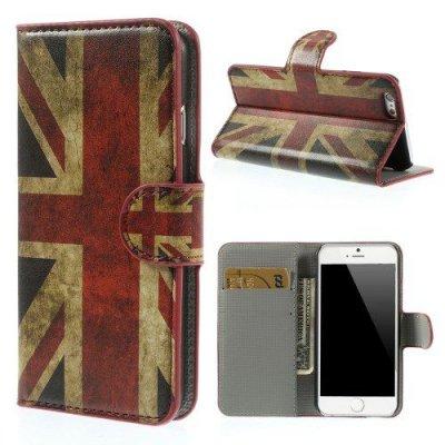 Plånboksfodral iPhone 6 Engelsk Flagga