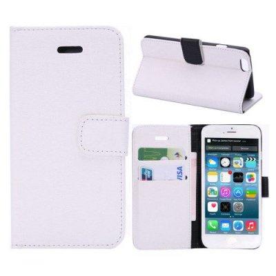 Plånboksfodral iPhone 6 Oracle grain Vit