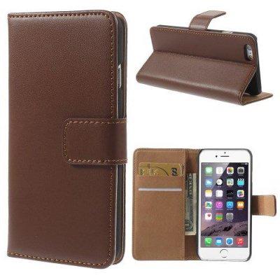 Plånboksfodral till iPhone 6 4.7tum Brun