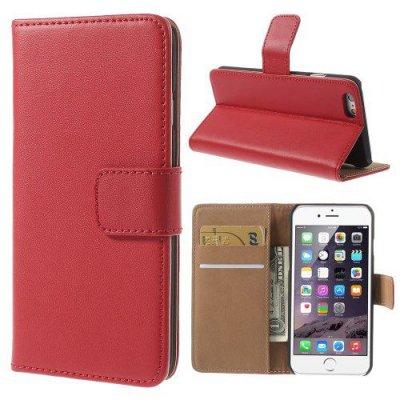 Plånboksfodral till iPhone 6 4.7tum Röd