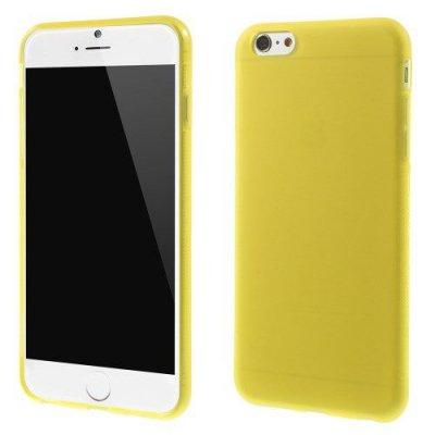 Flexibelt Anti-Slip Skal till Apple iPhone 6 Plus 5.5 tum Gul