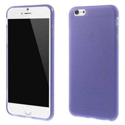 Flexibelt Anti-Slip Skal till Apple iPhone 6 Plus 5.5 tum Lila