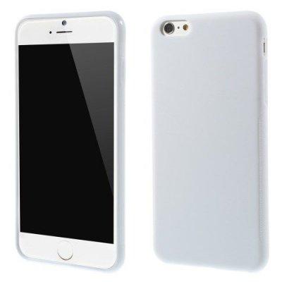 Flexibelt Anti-Slip Skal till Apple iPhone 6 Plus 5.5 tum Vit