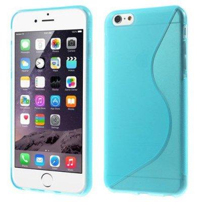 Flexibelt S-Design Skal till Apple iPhone 6 Plus Blå