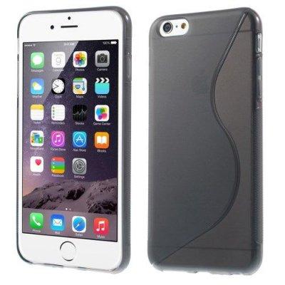 Flexibelt S-Design Skal till Apple iPhone 6 Plus Grå