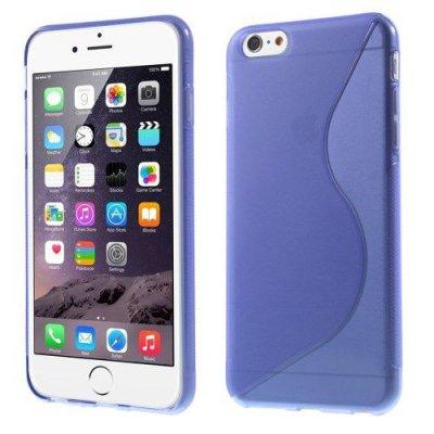 Flexibelt S-Design Skal till Apple iPhone 6 Plus Lila