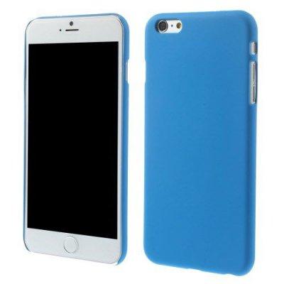 Hårt Skal till iPhone 6 Plus 5.5 tum Blå med gummerad yta