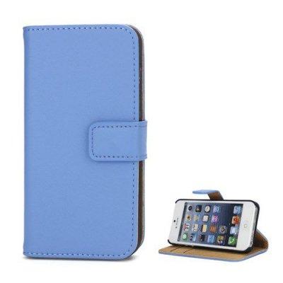 Blå Plånboksfodral till iPhone 5 5S