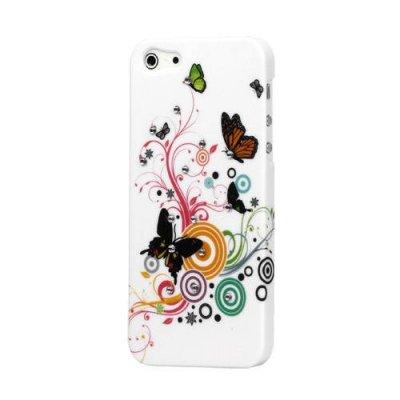 Fjärilar iPhone 5 Rhinestone