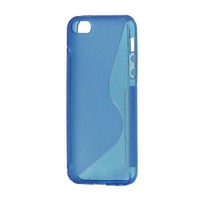 Flexibelt S-Design Skal till iPhone 5 5s Blå