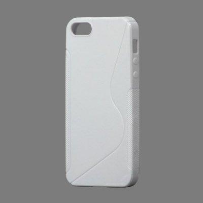 Flexibelt S-Design Skal till iPhone 5 5s Vit