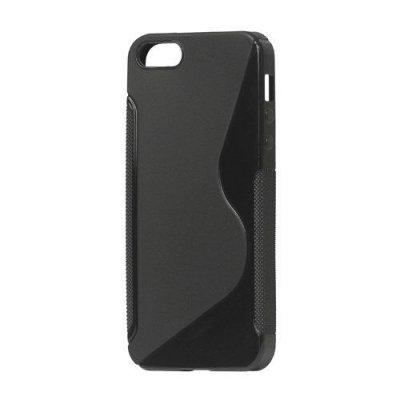 Flexibelt S-Design Skal till iPhone 5 5s Svart