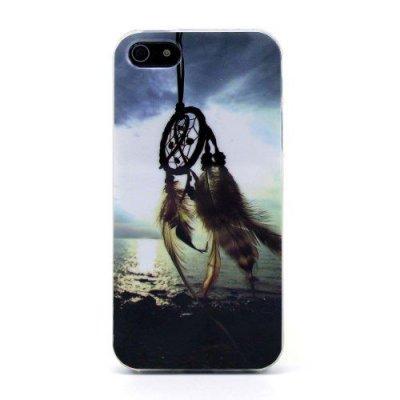 Flexibelt Skal till iPhone 5 5S Motiv Drömfångare