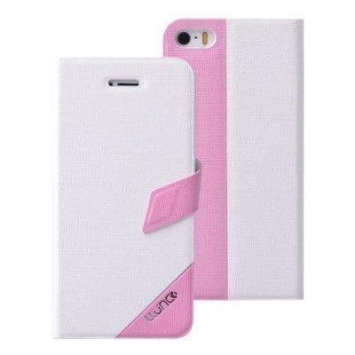 Fodral till iPhone 5 5s LLUNC Tiny Time 2.0 Series - Vit/Rosa