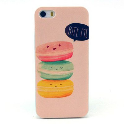 Hårt Skal iPhone 5 5S med motiv donuts bite me