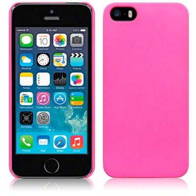 Hårt Skal till iPhone 5 5S Rödrosa
