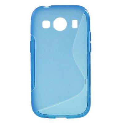 Flexibelt S-Design Skal till Samsung Galaxy Ace 4 Blå