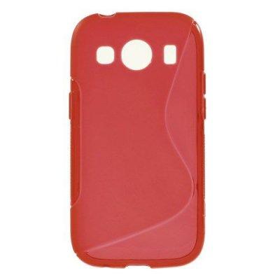 Flexibelt S-Design Skal till Samsung Galaxy Ace 4 Röd