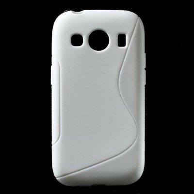 Flexibelt S-Design Skal till Samsung Galaxy Ace 4 Vit