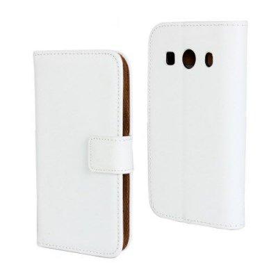 Plånboksfodral Premium till Samsung Galaxy Ace 4 - Vit