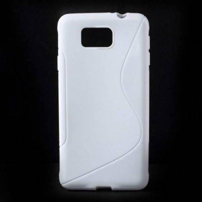 Flexibelt Skal S-Design till Samsung Galaxy Alpha Vit