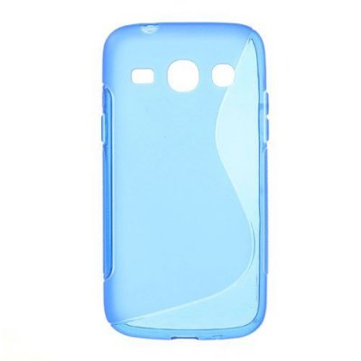 Flexibelt S-Design Skal till Samsung Galaxy Core Plus Blå