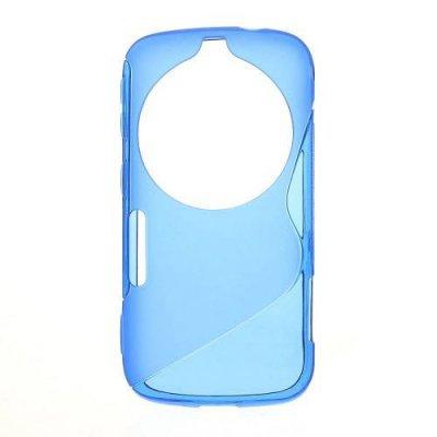Flexibelt Skal S-Design till Galaxy K Zoom Blå