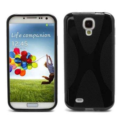 Mjukt skal till Samsung Galaxy S4 Svart