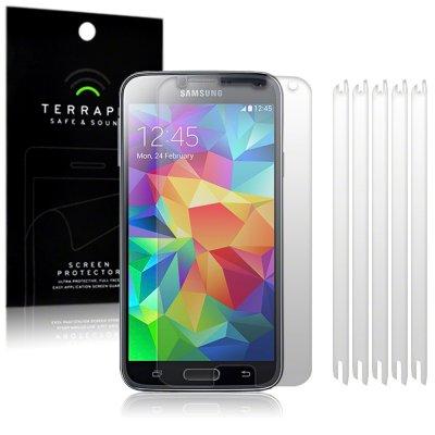 Displayskydd till Samsung Galaxy S5 - 6-pack