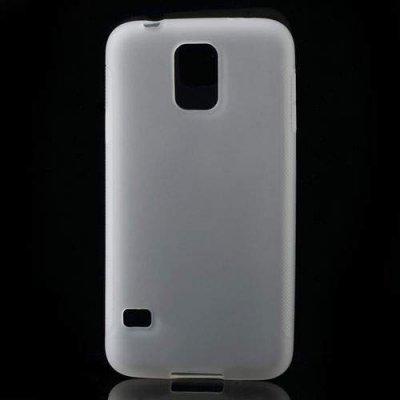 Flexibelt Skal Samsung Galaxy S5 Vit