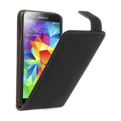 Flipfodral Samsung Galaxy S5 svart