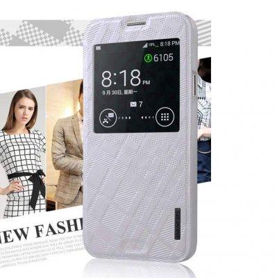 Fodral med fönster Samsung Galaxy S5 Vit
