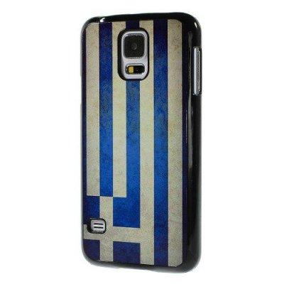 Hårt Skal till Samsung Galaxy S5 Greklands flagga