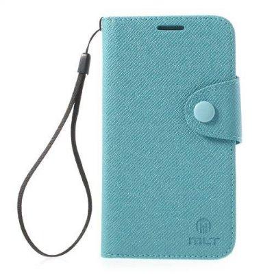 Plånboksfodral MLT till Samsung Galaxy S5 - Blå