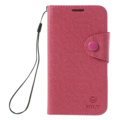 Plånboksfodral MLT till Samsung Galaxy S5 - Röd