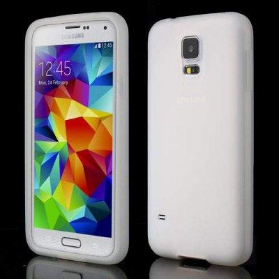 Silikon Skal Samsung Galaxy S5 Vit