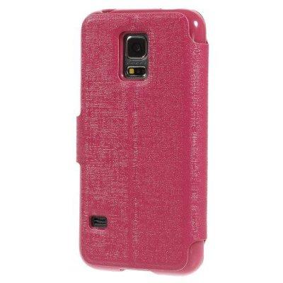Fodral MLT till Samsung Galaxy S5 Mini - Röd/Rosa