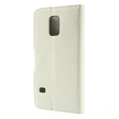 Vit Plånboksfodral till Samsung Galaxy S5 Mini