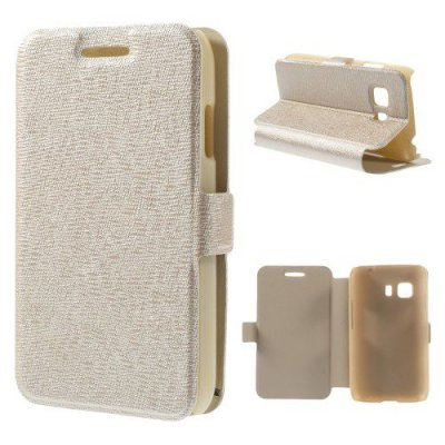 Fodral till Samsung Galaxy Young 2 Champagne/Beige