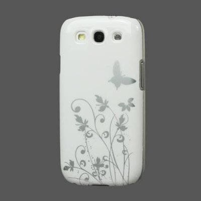 Skal Samsung Galaxy S3 White Butterfly