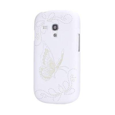 Skal Samsung Galaxy S3 mini graverad fjäril